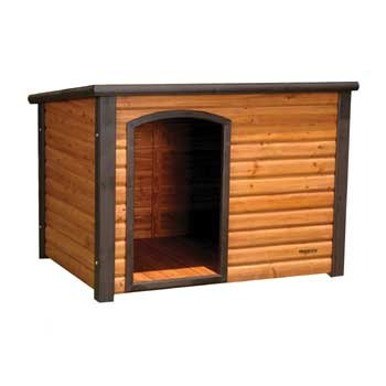 Houses  Sale on Precision Pet Outback Log Cabin Dog House  Large  45 1 2x33x33 Inches