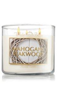 Mahogany Teakwood Scented Candle 14.5 Oz