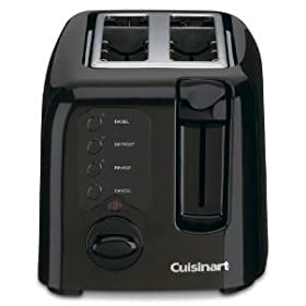 Cuisinart Toaster - 2-Slice - Black
