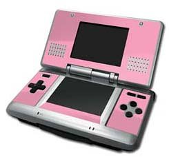 Wrapstar Pink Graphic Skin (Nintendo DS)
