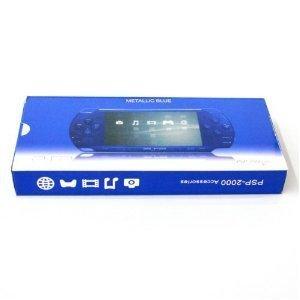 PSP 2000 Full Housing Case Shell Faceplate Dark Blue