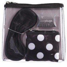 cvs-4-piece-travel-kit-earplugs-eye-mask-versatile-coin-purse-and-clear-clutch-by-cvs