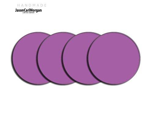 Centre de roue en alliage PAC Badges pour Skoda Honda mg (Clr 57mm), autocollant, Violet