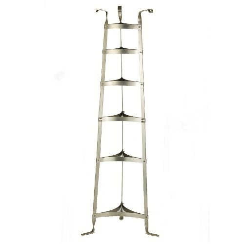 Old Dutch 5-Foot Cookware Stand, Satin Nickel