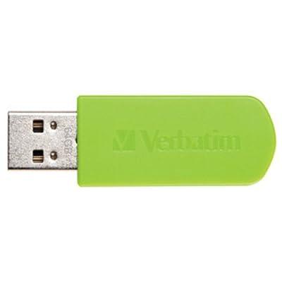Verbatim 64 GB Store 'n' Go Mini USB 2.0 Flash Drive, Eucalyptus Green 49834