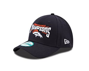 NFL Denver Broncos 2013 AFC Conference Champs Adjustable Cap by New Era