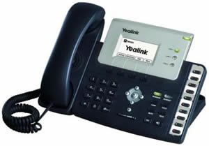 New Cortelco Yealink Advanced Ip Phone Poe 3 Sip Accounts Voicemail Mwi Hotline Emergency Call