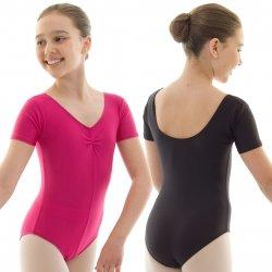 new girls roch valley dance /ballet leotard (0 2-4years, black)