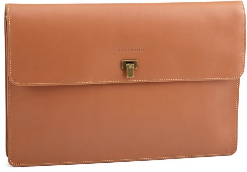 Hartmann Luggage Belting Leather Document Envelope, Natural, One Size