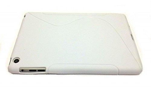 Aristocratique Qualité S Line IPAD Apple Air 2/6 Ipad (2014-15) Cover vague de gel de silicone pour Apple iPad 2 Air / Ipad 6 (2014-15) White par G4GADGET®