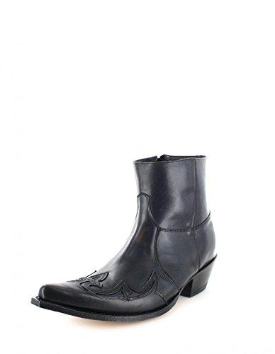Sendra Boots 7783, Stivali western unisex adulto, Nero (Negro), 39