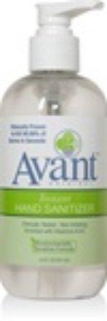 Avant Instant Hand Sanitizer 8.5Oz Pump Bottle 24 Per Case