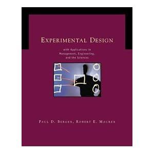 Experimental Design with Livre en Ligne - Telecharger Ebook