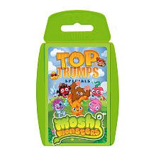 Moshi Monsters Top Trumps Card Game - 1