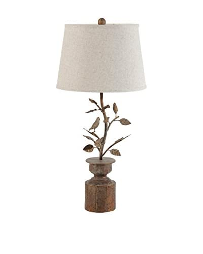 Table Lamp, Brown