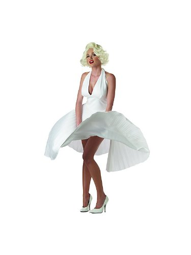 Deluxe Marilyn Monroe Costume - Medium - Dress Size 8-10