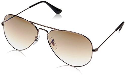 d07f05250c Buy Ray-Ban Aviator Sunglasses (Gunmetal) (RB3025 004 5158) on Amazon