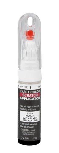 PlastiKote 2019A Honda Satin Silver Metallic BC Scratch Repair Pen (Tamper Paint compare prices)