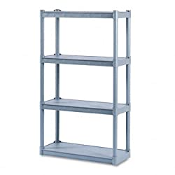 Iceberg Rough N Ready Four-Shelf Open Storage System