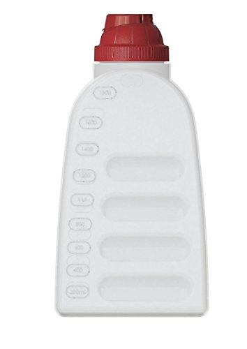 United Solutions Fs9040 Pack Of Six Two Quart Bpa-Free Plastic Refrigerator Bottle With Lid - 2Qt .5 Gallon Fridge Bottle And Lid 6 Pack front-247300