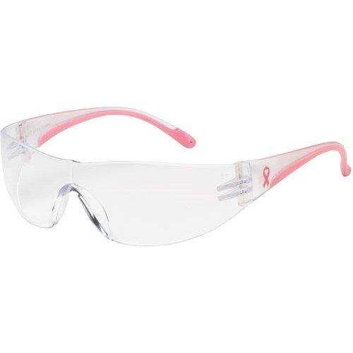 PIP 250-10-0920 Eva Women Safety Glasses, Clear Anti-Scratch & Anti-Fog Lens -2 pack