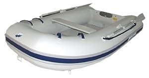 Mercury 270 Sport PVC Inflatable Boat, Gray, 8-Feet 10-Inch (2010 Model) by Mercury