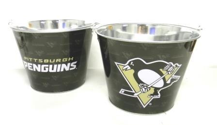 Pittsburgh Penguins Repeater Beer / Ice Bucket