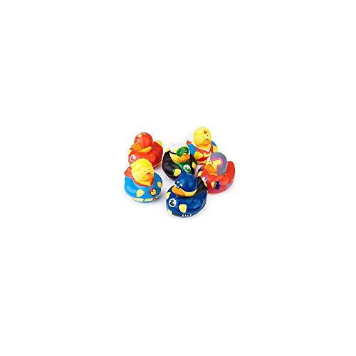 Superhero Rubber Duckies  by Fun Express