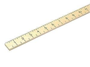 RST - Hardwood Metre Stick - Plain
