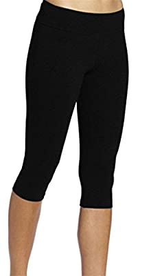 Neonysweets Womens Running Capri Tights Yoga Pants Fitness Leggings