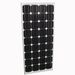 New 80 Watt Solar Panel Mono Crystalline 12v with Free Regulator