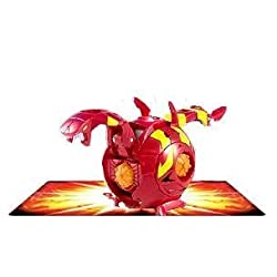 Bakugan Super Assault Gundalian Invaders Bakutremor (Red) Pyrus COBRAKUS 800G w/DNA CODE (FACTORY SE