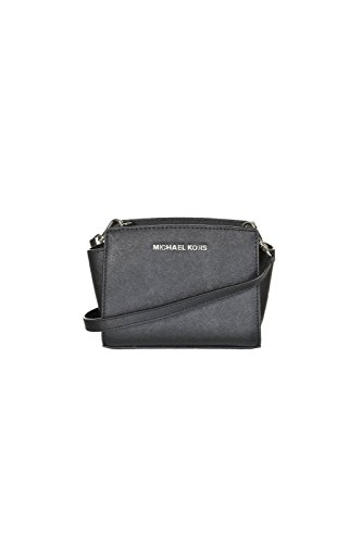 MICHAEL KORS Borsa Mini Messenger Selma Nero Art 32H3SLMC1L 001-47 BLACK A16