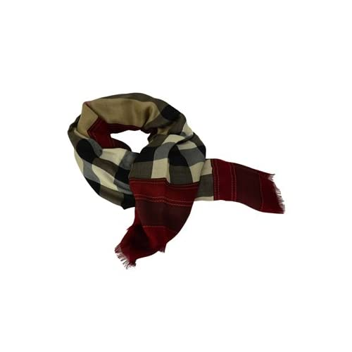 [バーバリー]BURBERRY バーバリー ショール スカーフ 3834039 RED クラレットチェック [並行輸入品]