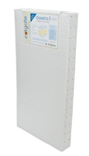 Colgate Classica I Foam Crib Mattress, White front-875393