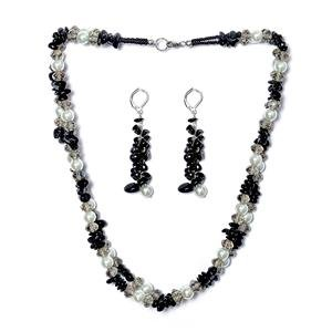 TJC Mix Jewellery Set With Black Tourmaline Stone