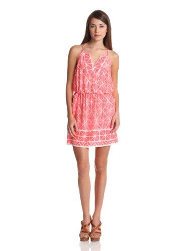Alice & Trixie Women's Erin Dress, Coral, Medium