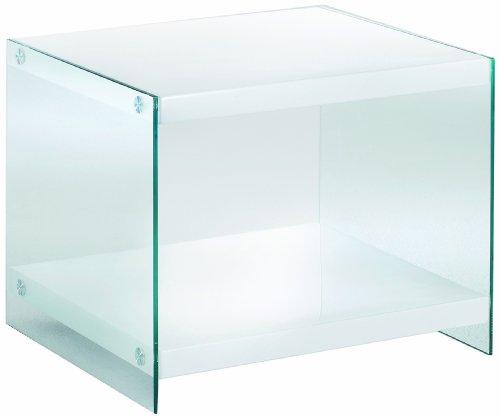 HAKU Möbel 87391 Beistelltisch 55 x 48 x 45 cm, weiß