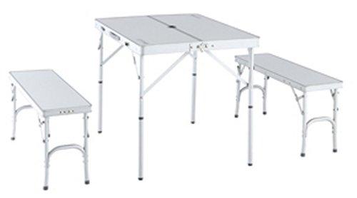 ロゴス(LOGOS) アルクリーンベンチテーブルセット4  73021535