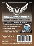 Card Game Sleeves Brown Backed
