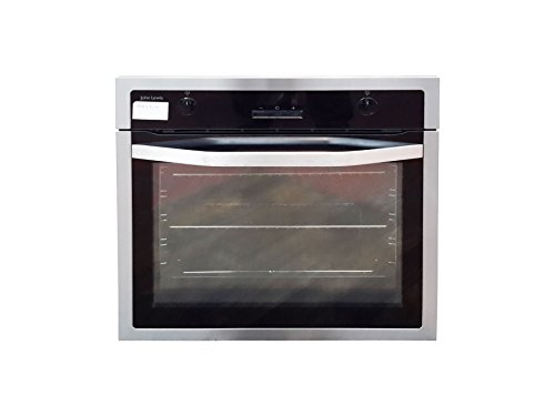 John Lewis JLBIOS622 Electric Multifunction Single Oven, Black/Stainless Steel - G 1794704