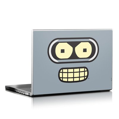 Bender Face Design Protective Decal Skin Sticker (High Gloss Coating) For 15 X 10.5 Inch Laptop Notebook Computer Device front-633162