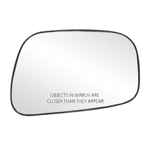 fit-system-80175-toyota-camry-sedan-right-side-power-replacement-mirror-glass-with-backing-plate