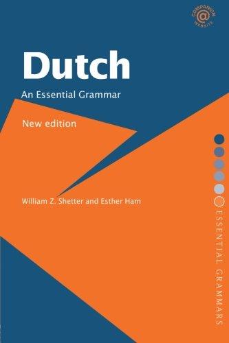 Dutch: An Essential Grammar (Routledge Essential Grammars)