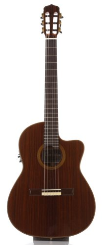 Cordoba Fusion 14 Rose Acoustic Electric Nylon String Classical Guitar