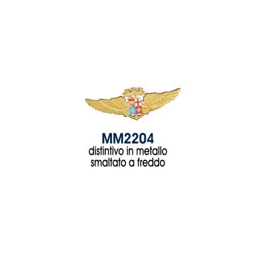 Giemme articoli promozionali - Distintivo Metallo Stemma Aviazione Navale Marina Militare Prodotto Ufficiale