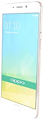 Oppo F1 Plus 64 GB Gold Dual Sim Android v 5.1.1 Lollipop Mobile with Octacore 2.0 Cortex - A53 Processor, 13...