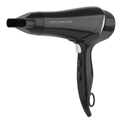 BRAND NEW VIDAL SASSOON 2100W CLASSIC PERFORMANCE DRYER WITH 2 SPEED & 3 HEAT