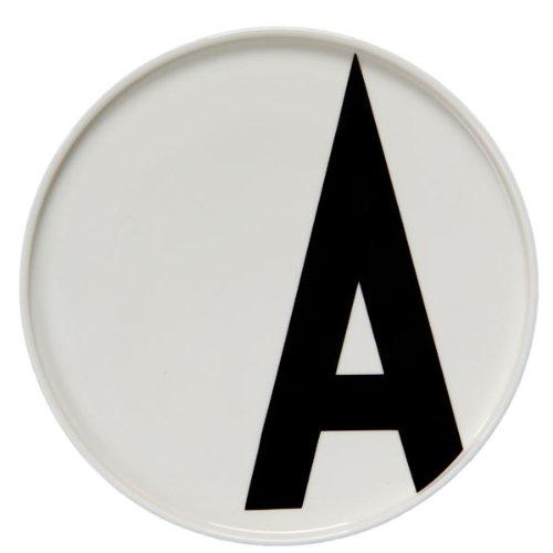 Design Letters Teller mit Buchstabe A