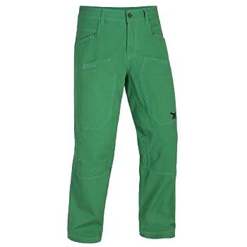SALEWA 00-0000022573 Pantalon escalade/loisirs en coton pour homme Earthon Vert Taille 54 cm